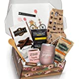 Birthday Box Coffee Gift Basket - A Birthday Gift Basket with Coffee Gifts for Coffee Lovers in Your Life - Delight Her with