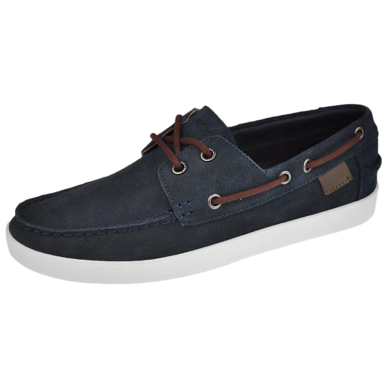 01f19bbe73d1 Lacoste Men s Shoes Keellson 4 Boat Shoe 8.5 M Blue  Amazon.ca  Shoes    Handbags