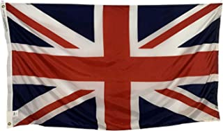 product image for 6x10' United Kingdom Flag - All Weather Nylon & Reinforced Fly End Stitching - Made in USA