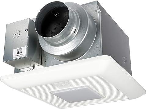 Panasonic Fv 0511vkl2 Whispergreen Select Ventilation Fan With Light 50 80 110 Cfm Amazon Com