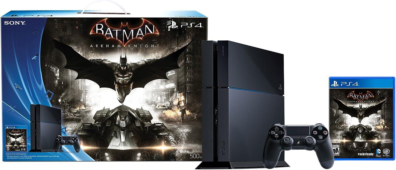 500GB PlayStation 4 Console – Batman Arkham Knight Bundle Discontinued