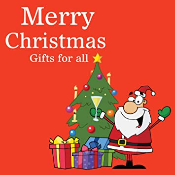 Amazon.com: Regalo de Navidad para todos los pancartas ...