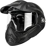 Evike Valken Annex MI-5 Airsoft Paintball Full Face Mask - ANSI Rated - Black - (48436)