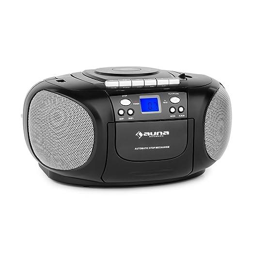 1 opinioni per auna BoomBoy Radio Portatile Stero Boom Box Con Lettore CD/MP3 e Mangianastri