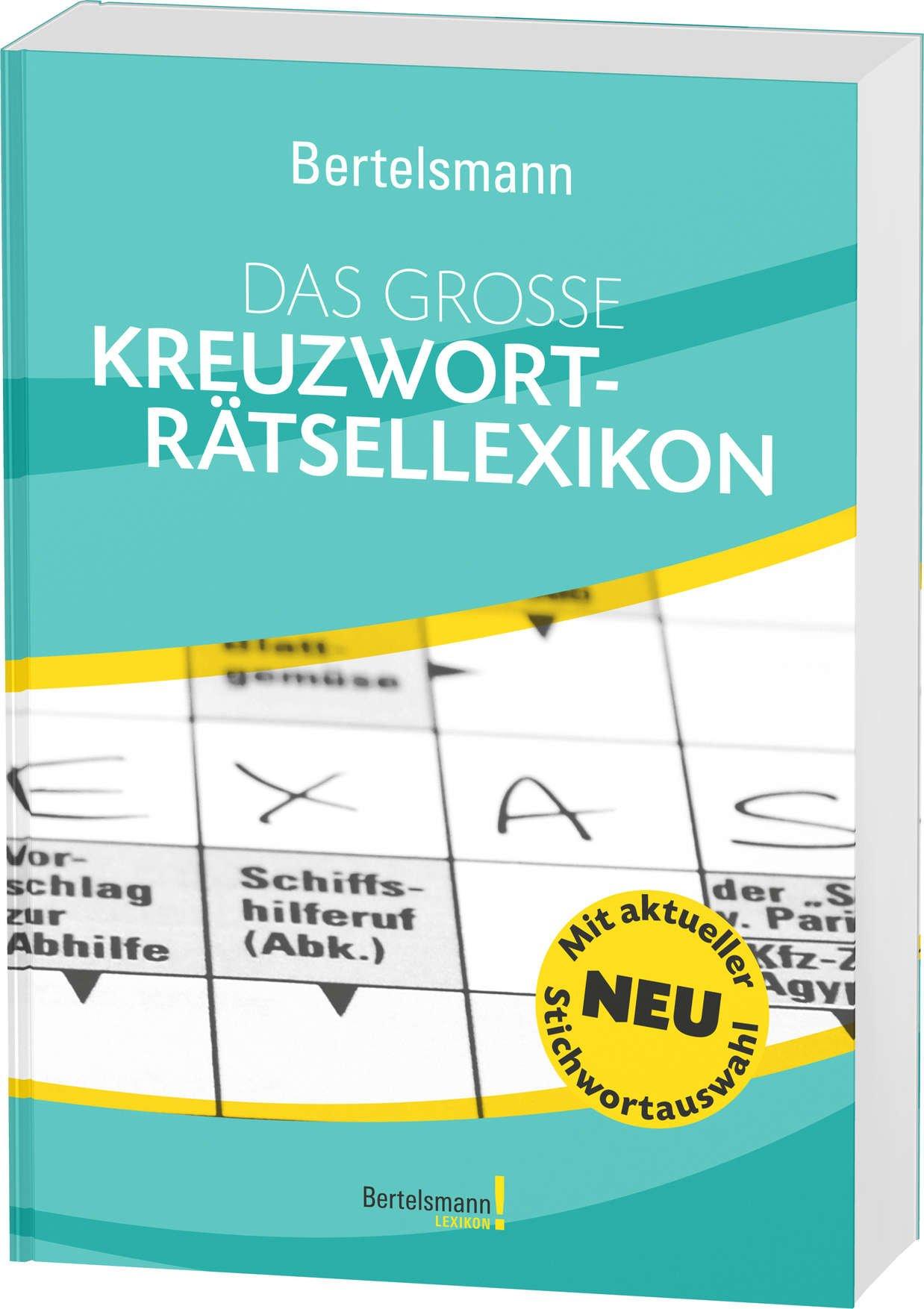 Bertelsmann Das große Kreuzworträtsellexikon