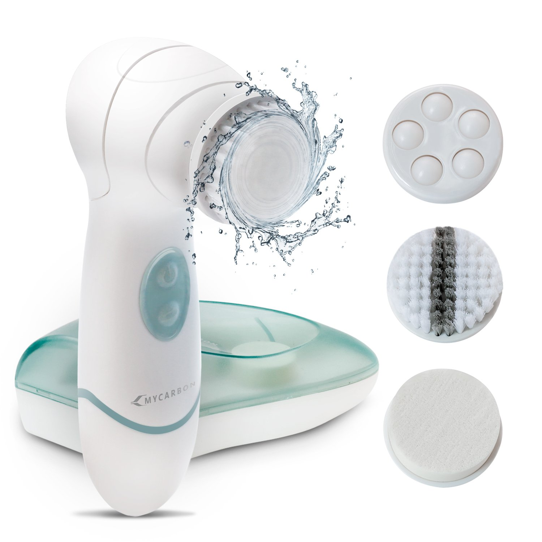 Gesichtsbürste Elektrisch Gesichtsreinigungsbürste - Weiche Borsten ...
