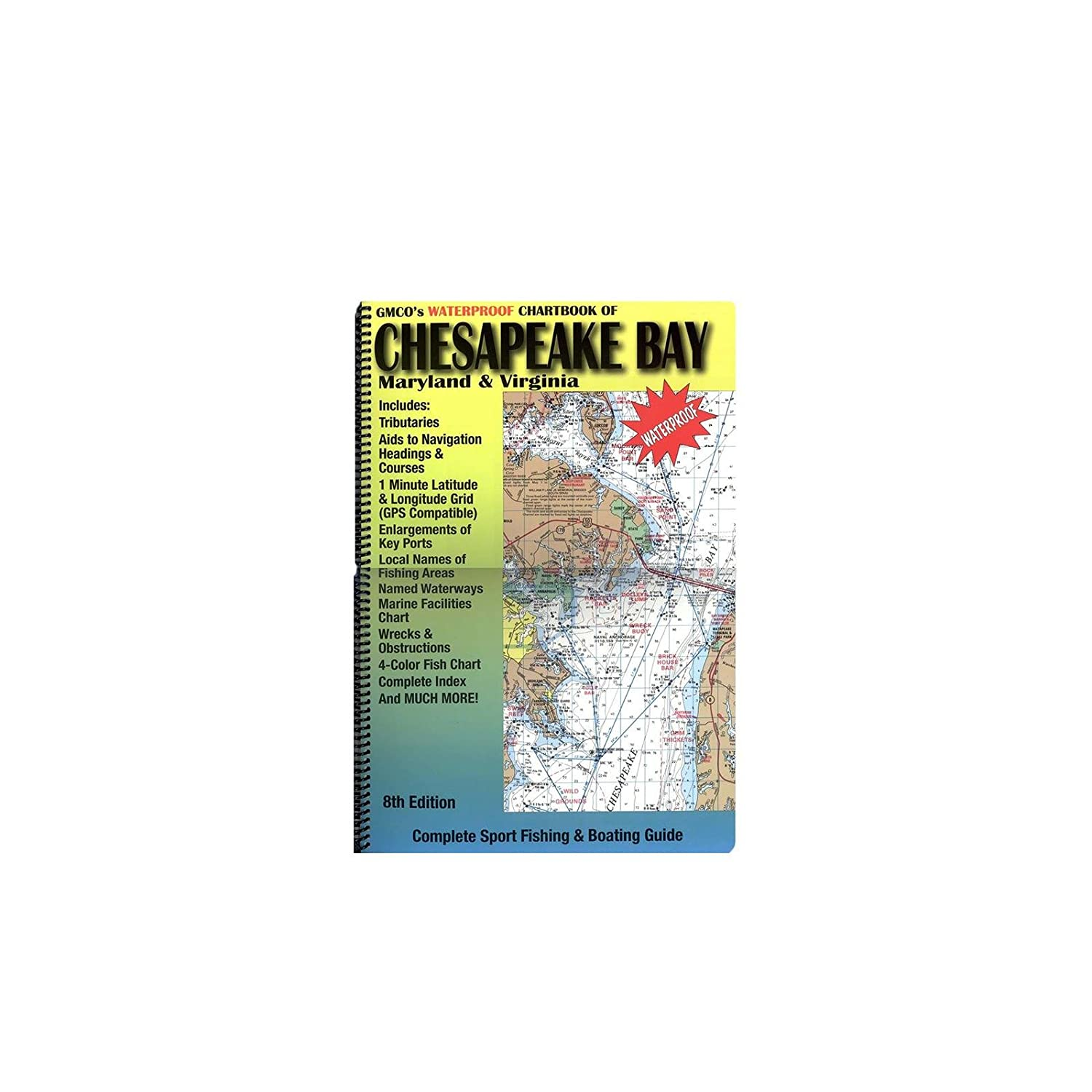 GMCO 14000 Chartbook for Chesapeake Bay, Maryland and Virginia by GMCO   B0084EHW5U