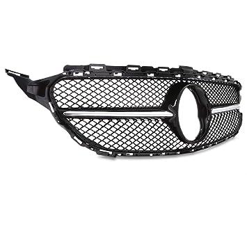 Parrilla para radiador, color negro cromado C63 AMG: Amazon ...