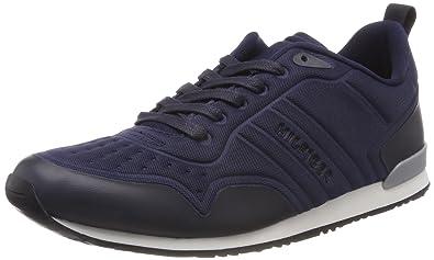 67491fcccd94d Tommy Hilfiger Men s Iconic Neoprene Runner Low-Top Sneakers  Amazon ...
