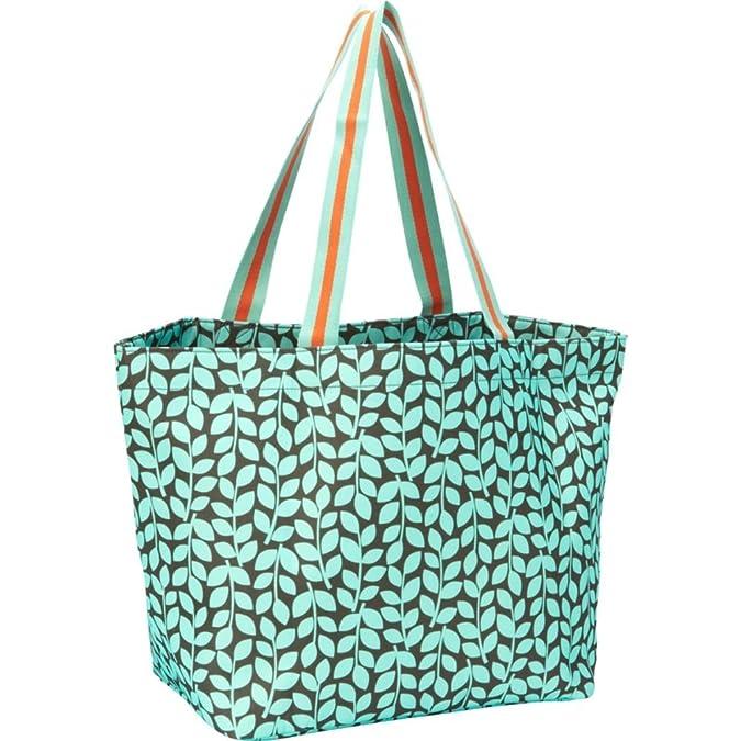6d27bcafcb Amazon.com  Vera Bradley Large Family Tote Shoulder Bag in Petal Dots  Shoes