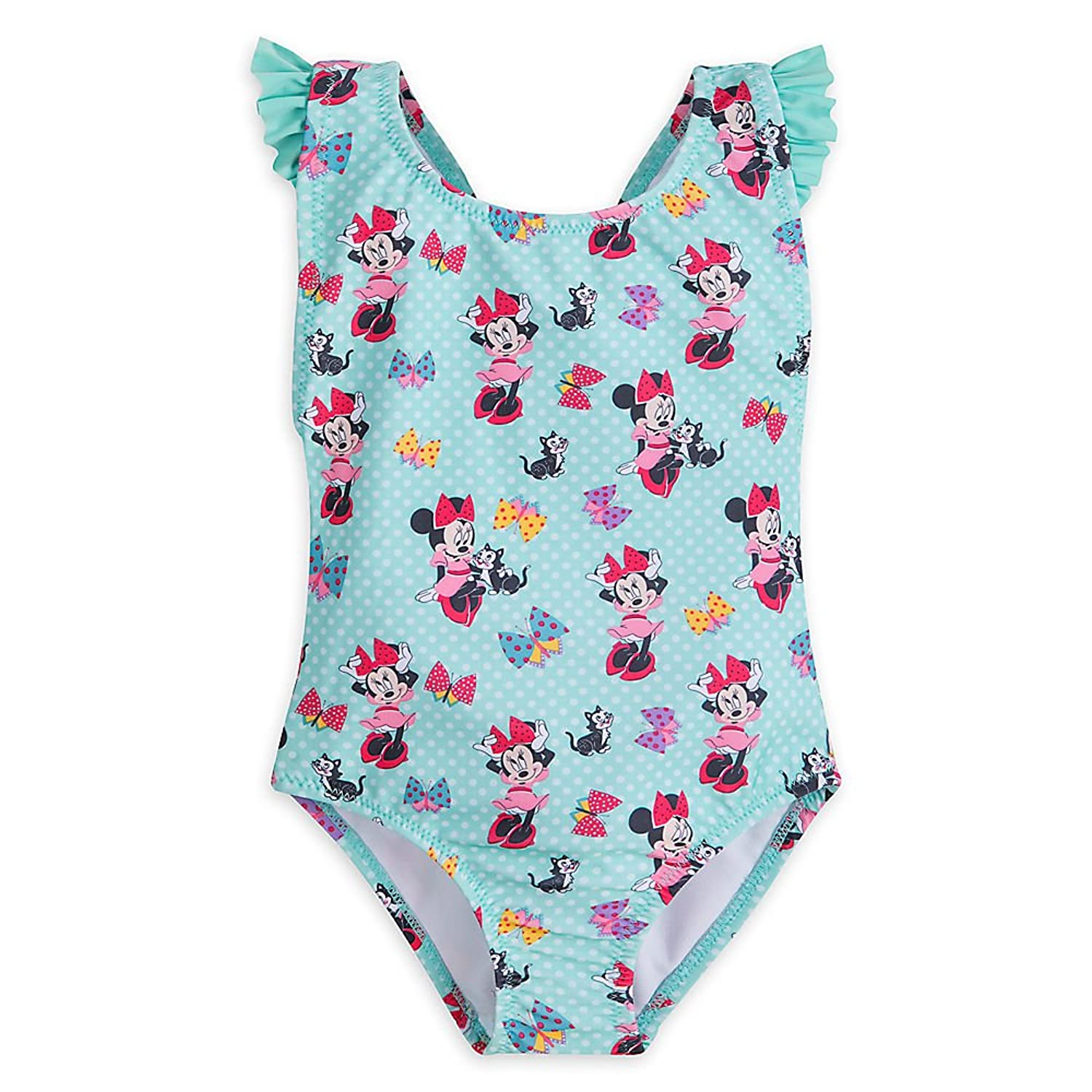 Amazon.com: Disney Minnie Mouse and Figaro Swimsuit For Girls: Clothing