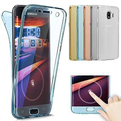 the latest 0a9f6 db6bd Amazon.com: Galaxy J2 Pro 2018 Case,[Full-Body 360 Coverage ...
