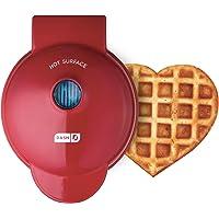 Dash DMW001HR Mini Heart Maker Waffle Iron Shaped Goodness, Red