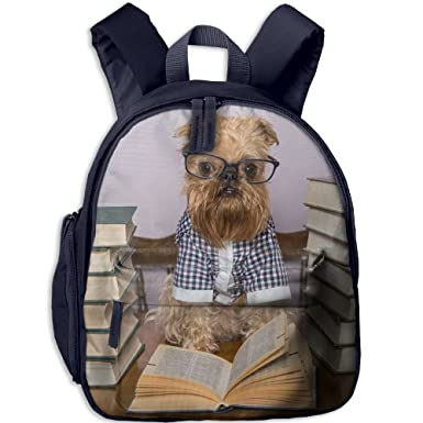 Amazon.com   Dog Glasses 3D Printed Personalized Child Schoolbag  Lightweight Bookbags Book Bag Backpack For Teen Girl Boys   Kids  Backpacks 772dbd646b