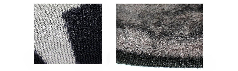 caprium caldi classico berretto a maglia, cappello con stella e molto  morbida fodera interna, Unisex Beige Taglia unica: Amazon.it: Abbigliamento