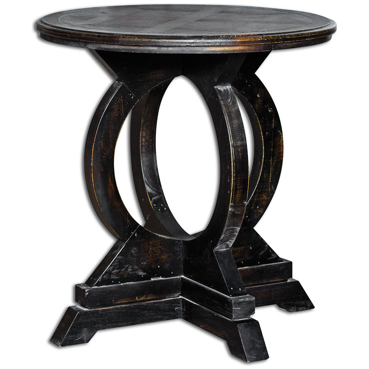 amazon    uttermost 25630 maiva accent table black  kitchen  u0026 dining amazon    uttermost 25630 maiva accent table black  kitchen      rh   amazon
