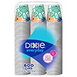 Dixie – Taza de baño, 3 oz. - 600 Tazas, Varios Colores