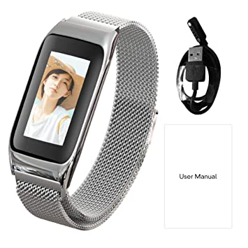Fitness Tracker, willful Reloj Fitness Pulsera podómetro Watch Pulsera Pulsómetro Reloj Inteligente de Pulsera Impermeable IP67 para Mujer Hombre niños HR ...