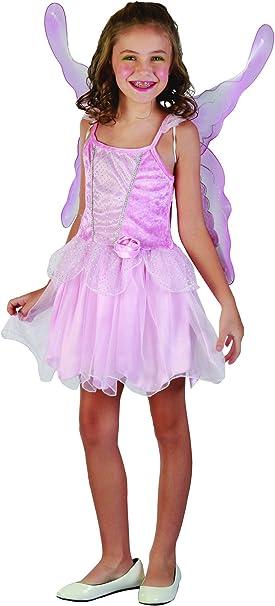 Disfraz hada mariposa niña - 4 - 6 años: Amazon.es: Juguetes y juegos