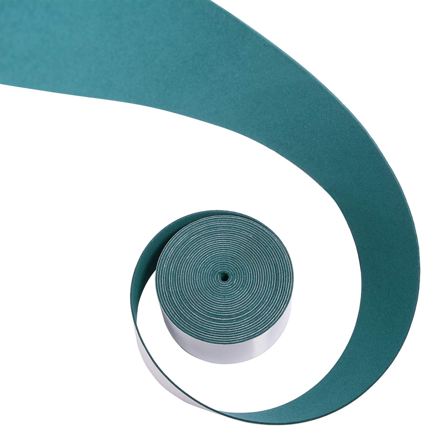 FOSHIO Micro Fiber Felt for Squeegee Edge Wrapping 5 Meters Length Dark Green Suede Felt to Cover The Edges of Hard Card Squeegees