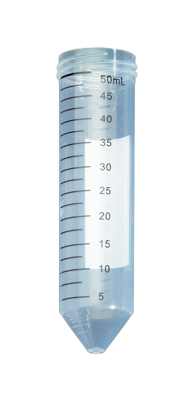 Celltreat 229454 Polypropylene Non-Sterile Centrifuge Tube, 50mL Volume (Case of 500)
