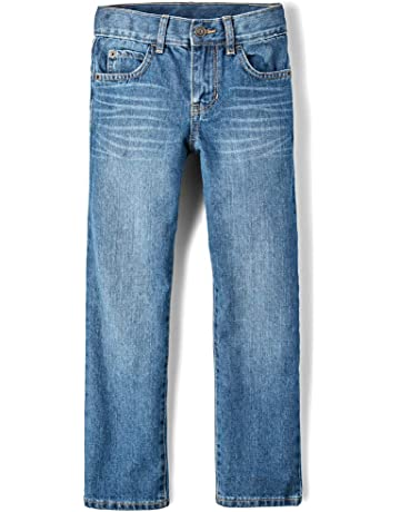 fb1f5212 The Children's Place Big Boys' Straight Leg Jeans