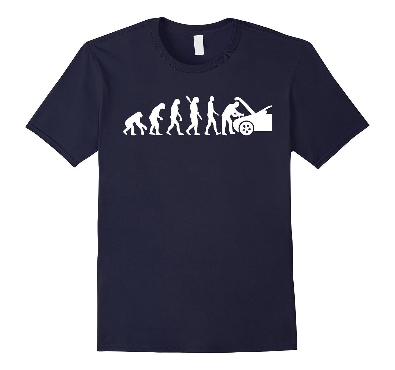 Evolution Mechanic Funny T-shirt Automotive Technician Gift-Art
