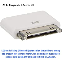 [ ME Superb ] 8 Pin Female to 30 Pin Male Adapter for iPhone 3 4S iPad 3 iPod Touch 4
