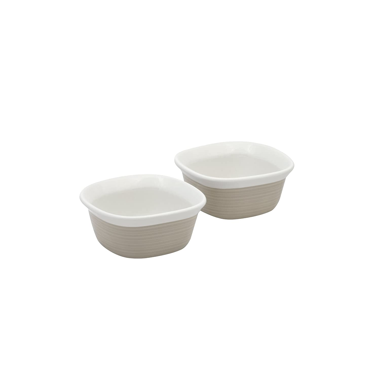 Corningware 1096863 Etch 7-Ounce Ramekin Twin Pack In Sand