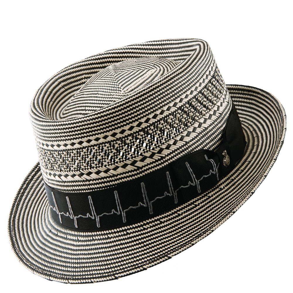 Carlos Santana Hats Healer Two Tone Pork Pie (Black-XLarge)  Amazon.ca   Luggage   Bags 6f2f5ca6121