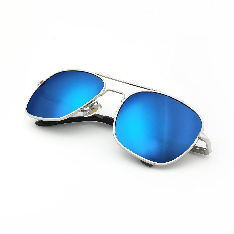 J+S Premium Military Style Classic Aviator Sunglasses, Polarized, 100% UV protection SO0045