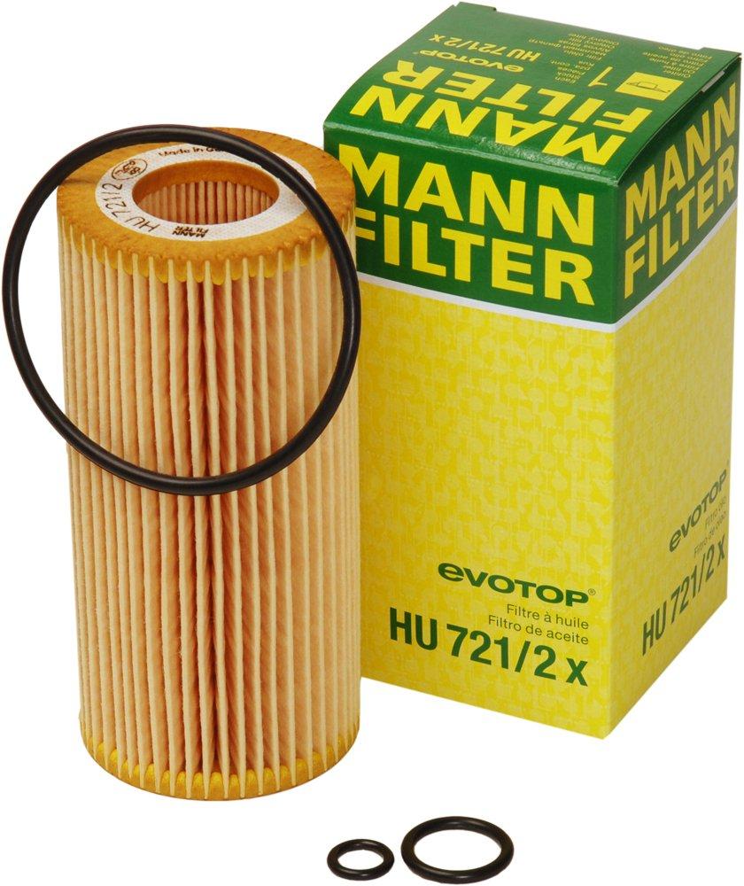 Mann Filter Hu 721 2 X Metal Free Oil Automotive Fuel Wk 11030