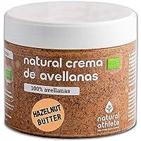 Crema de Avellanas BIO Natural Athlete Orgánica, 100%