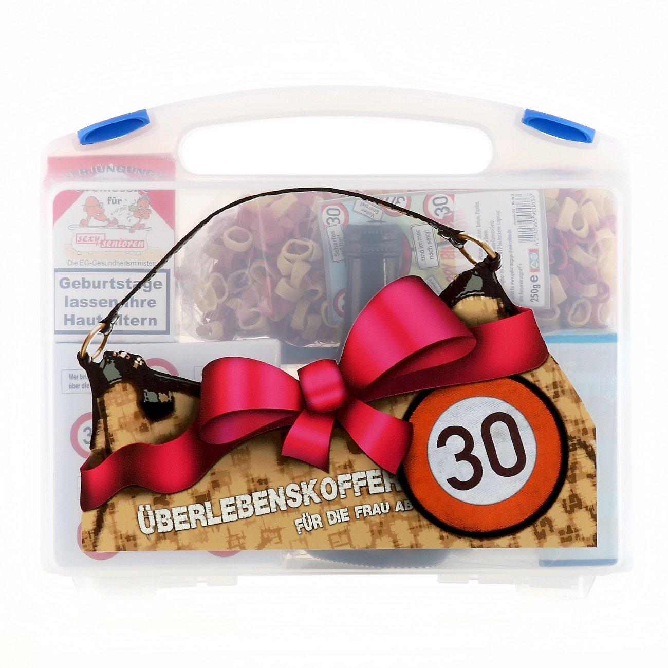 Lustige Apotheke Überlebenskoffer für die Frau ab 30 (8 teilig) Lustapotheke®