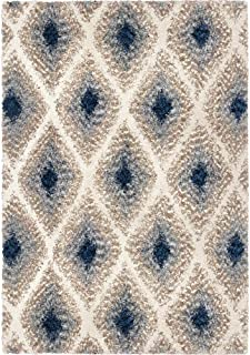 "product image for Orian Cotton Tail Ikat Diamond Multi 7'10"" X10'10 Area Rugs JA09"