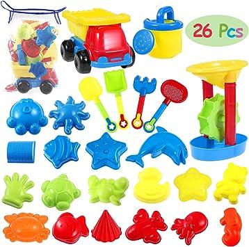 Sandmühle spielend LERNEN Spielzeug Sandkasten Sand Strand Kinder Kunststoff