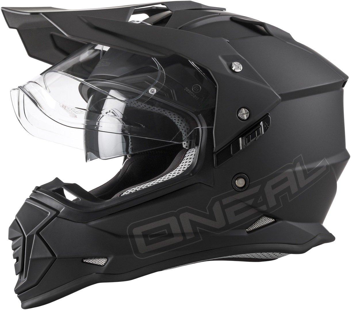 ONeal Unisex-Adult Full-face Style Sierra II Helmet Flat Black XL (61/62cm) (