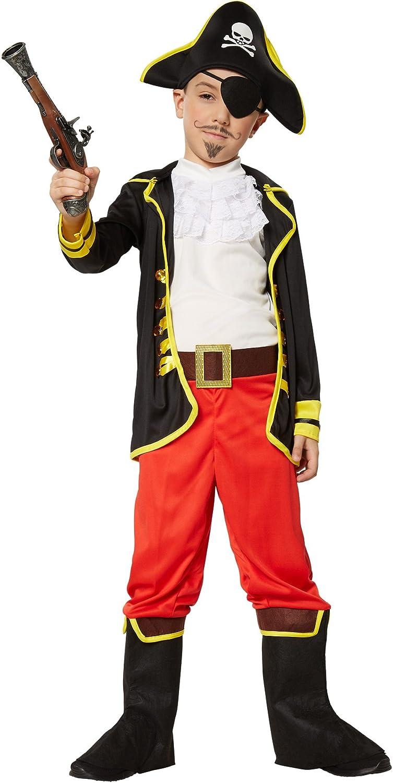 dressforfun 900356 Disfraz de Príncipe Pirata para Niño, (116 | no ...