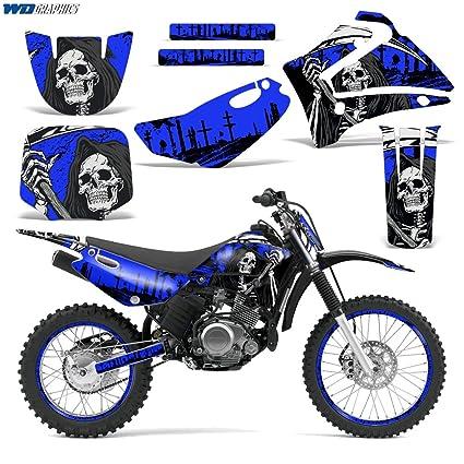 Amazon.com: Yamaha TTR125 2000-2007 Decal Graphic kit Dirt Bike MX ...
