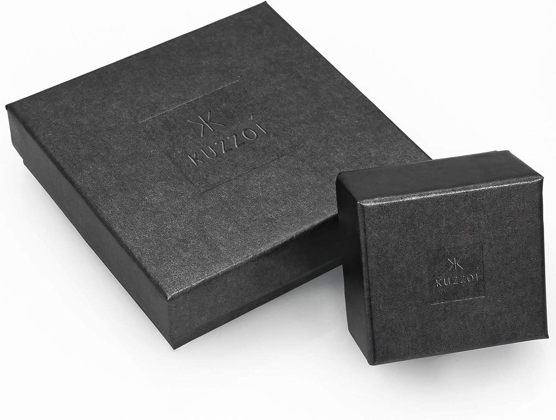 Longueur 50 cm Argent 925//1000 Collier Homme avec Bo/îte /à Bijoux Argent 925//1000 4.8 mm Cha/îne Homme 0110970118/_50 Kuzzoi Massive