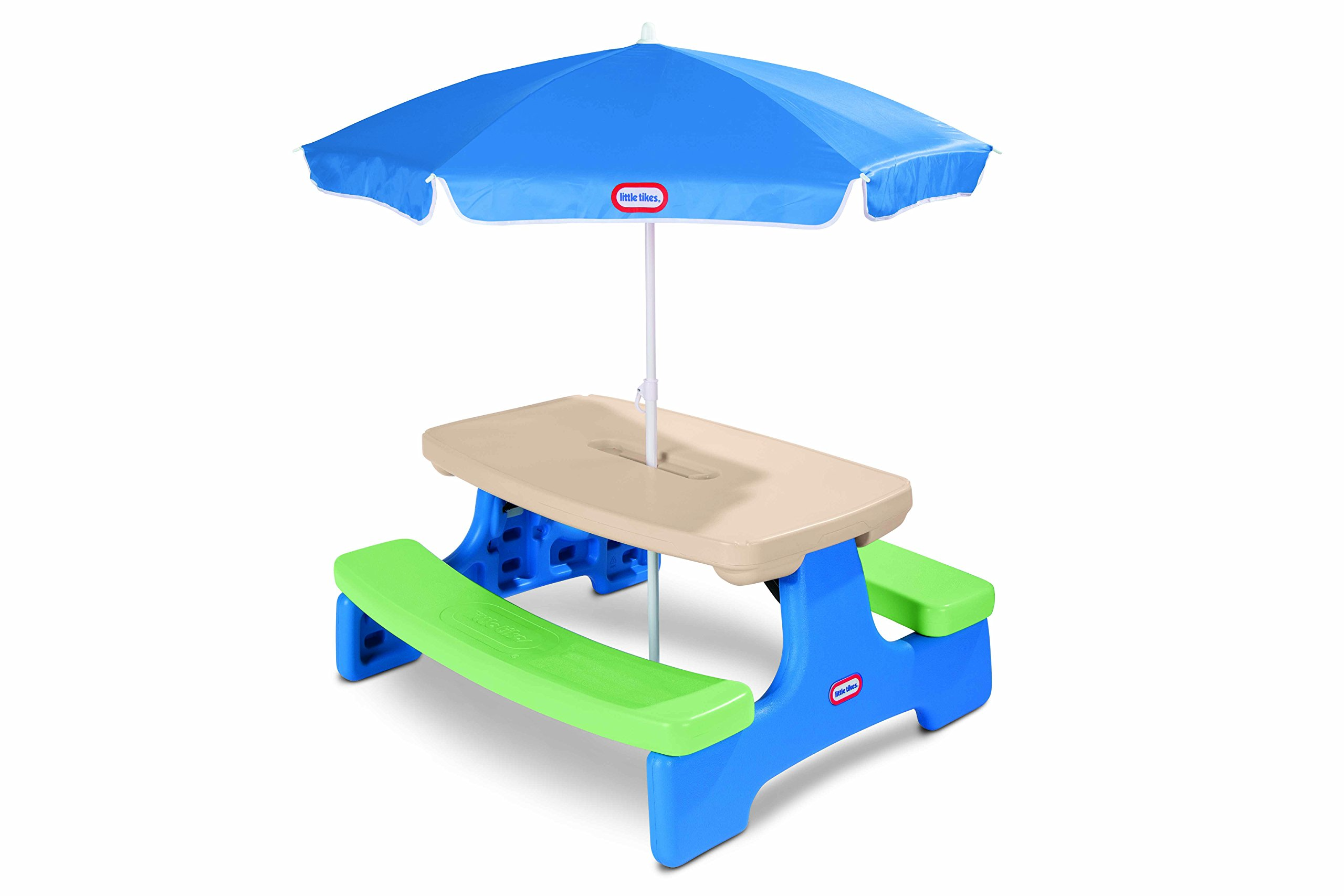Little Tikes Easy Store Picnic Table with Umbrella by Little Tikes