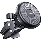 Magnet Car Phone Mount, Anwas Air Vent Magnetic Phone Holder, Screw-Locking Ultra Sturdy, 6 Strong Magnets Phone Case Friendl