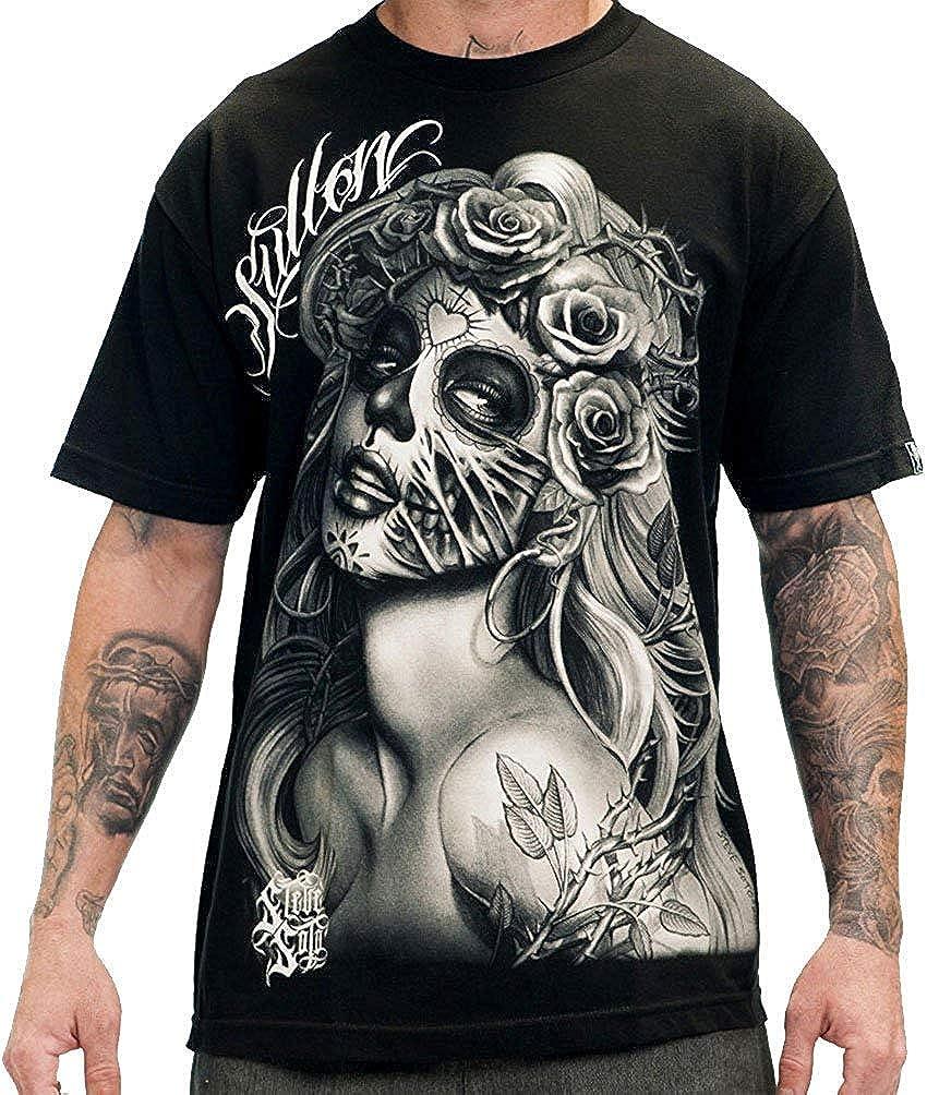 Sullen Clothing Mens Querida Muerta Short Sleeve Tee T-Shirt