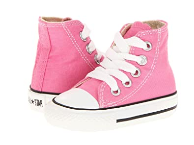 683c778684b Converse Infant Chuck Taylor All Star 7J234 Hi Pink Infant Size 6   Amazon.in  Shoes   Handbags