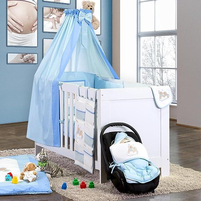 Juego de cama 7 piezas de Joy Incluye Saco de dormir + Gateo en color azul: Amazon.es: Bebé