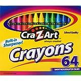 Cra-Z-art Crayons, 64 Count (10202)