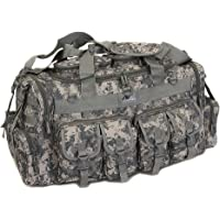 "NPUSA Mens Large 30"" Inch Duffel Duffle Military Molle Tactical Cargo Gear Shoulder Bag"