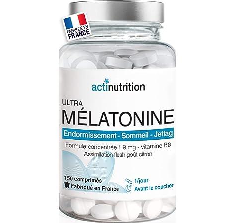 Abel Franklin Melatonina 1,9 mg 300 Cápsulas Complemento Alimenticio Sueño Relajación: Amazon.es: Salud y cuidado personal