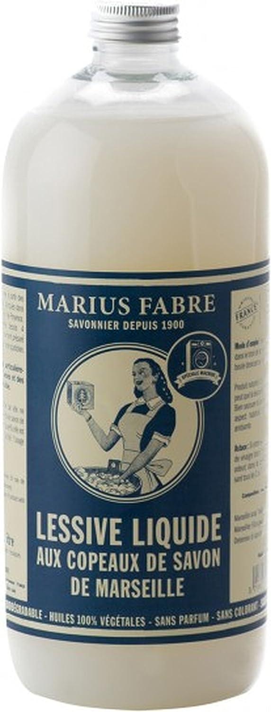 LLCOP1L Detergente Líquido (1L Marius Fabre Savon de Marseille–Jabón líquido Serie Natural