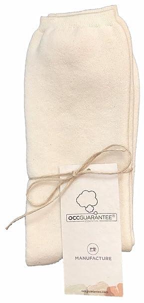 Body4Real Ropa interior de algodón orgánico Calcetines unisex 100% orgánico certificado de algodón (43
